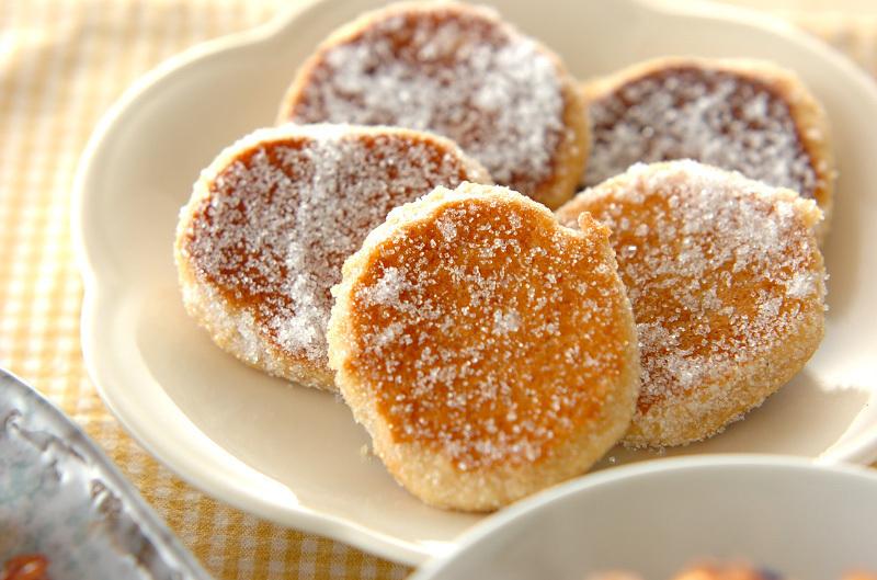 卵なし!フライパンでメープルソフトクッキー