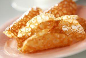 ジンジャー風味のメープルクッキー