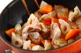 炒り鶏の作り方1