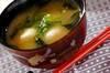 里芋のみそ汁の作り方の手順