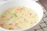 野菜の白いスープ