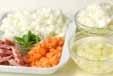 野菜の白いスープの下準備1