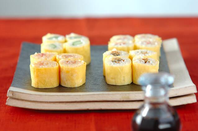 オムライス・オムレツだけじゃない! 薄焼き卵のアレンジレシピ15選の画像