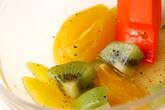 フルーツサラダの作り方2
