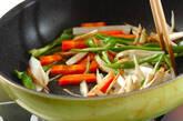 たっぷり根菜のきんぴらの作り方5