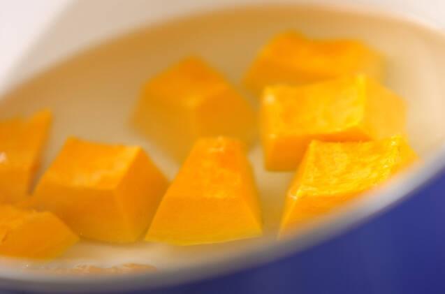 カボチャのシナモンがけの作り方の手順3