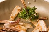 イカのショウガ炒めの作り方3