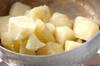 ジャガイモ梅肉和えの作り方の手順3