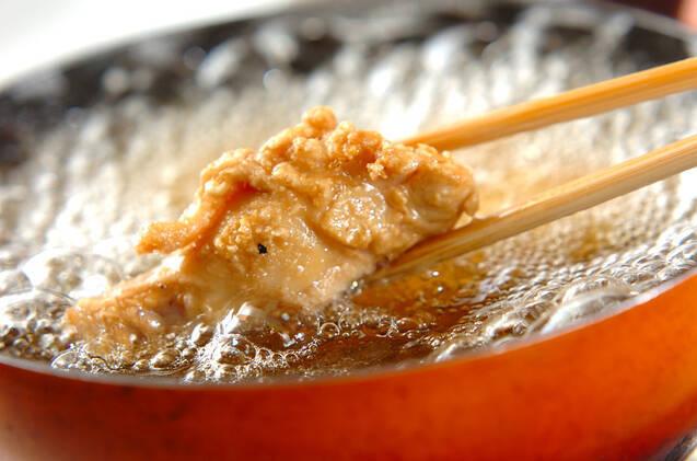 手羽元のニンニク風味揚げの作り方の手順6
