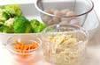 芽ヒジキの煮物の下準備2