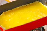 ほうれん草入り卵ロールの作り方2