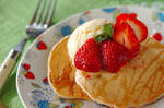 イチゴホットケーキ