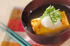 だし巻き卵のおろしスープ