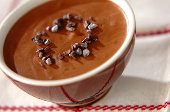豆乳チョコムース