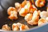 エビチリ丼の作り方の手順6