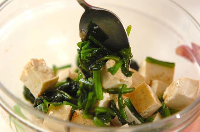 豆腐のおかか和えの作り方の手順3
