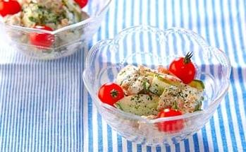 鶏の唐揚げサラダ