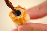 ちくわのりの天ぷらの作り方1