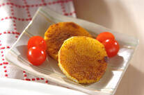 長芋のカレー風味バターソテー