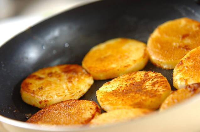 長芋のカレー風味バターソテーの作り方の手順3