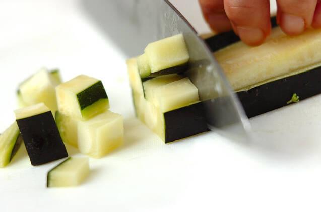 ズッキーニのパリパリあんかけの作り方の手順1