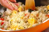 チーズチャーハンの作り方4