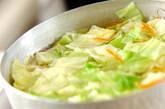 ゆでキャベツとホタテ缶のマヨネーズサラダの作り方1