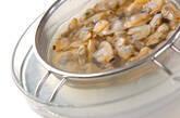 アサリ玄米丼の下準備1