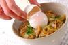 アサリ玄米丼の作り方の手順7