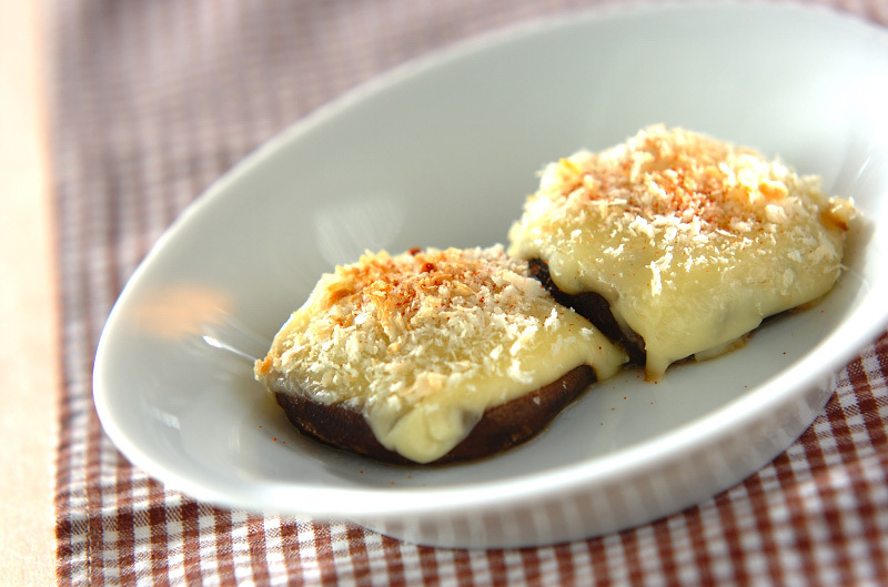 3. 椎茸のチーズ焼き