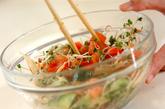 トマトとキュウリの夏サラダの作り方1