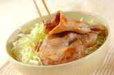 豚肉のみそ照り焼き丼の作り方3