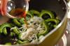 シラスとゴーヤの簡単炒めの作り方の手順3