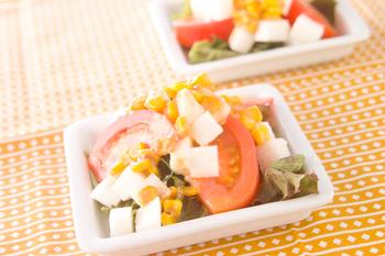 長芋のコロコロサラダ