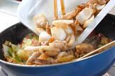春キャベツの炒め物の作り方9