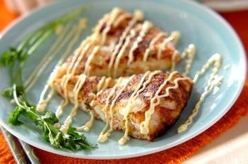 大和芋のフライパン焼き