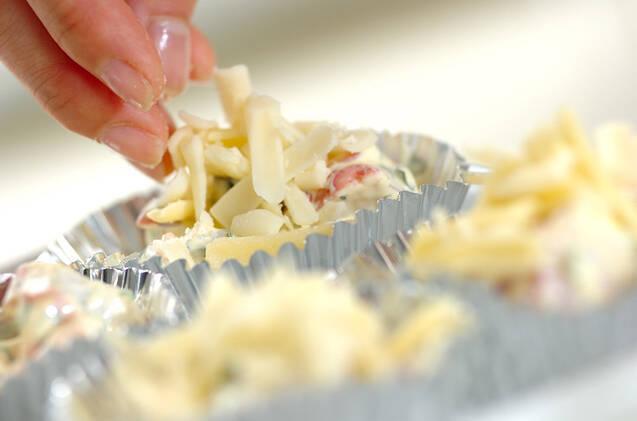 タコのチーズ焼きの作り方の手順3