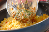 さっぱり納豆チャーハンの作り方3