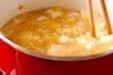 くずし豆腐汁の作り方4