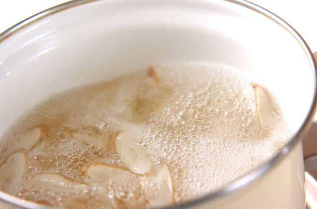 ゴボウのみそ汁の作り方の手順3