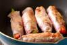 豚肉のロール巻きの作り方の手順3