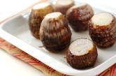 里芋のユズコショウマヨ和えの下準備1