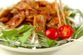 ショウガ焼きのサラダ仕立ての作り方8