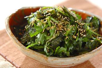 春菊の生サラダ