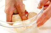 カキの土手鍋の下準備3