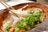 カキの土手鍋の作り方3