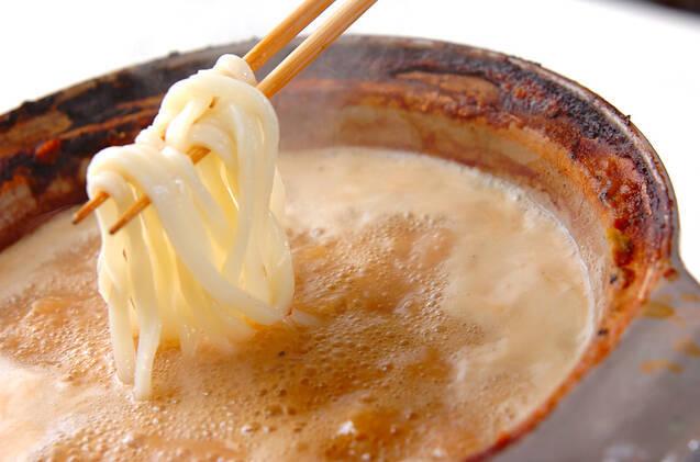 冬のごちそう!カキの土手鍋の作り方の手順13
