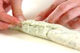 玉ネギとホウレン草のベーグルの作り方4