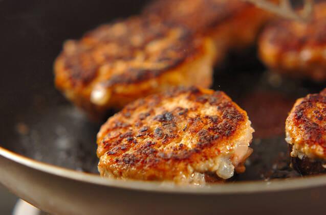 シイタケの肉詰めチーズ焼きの作り方の手順6