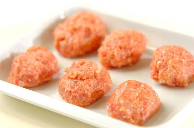 シイタケの肉詰めチーズ焼きの作り方の手順4